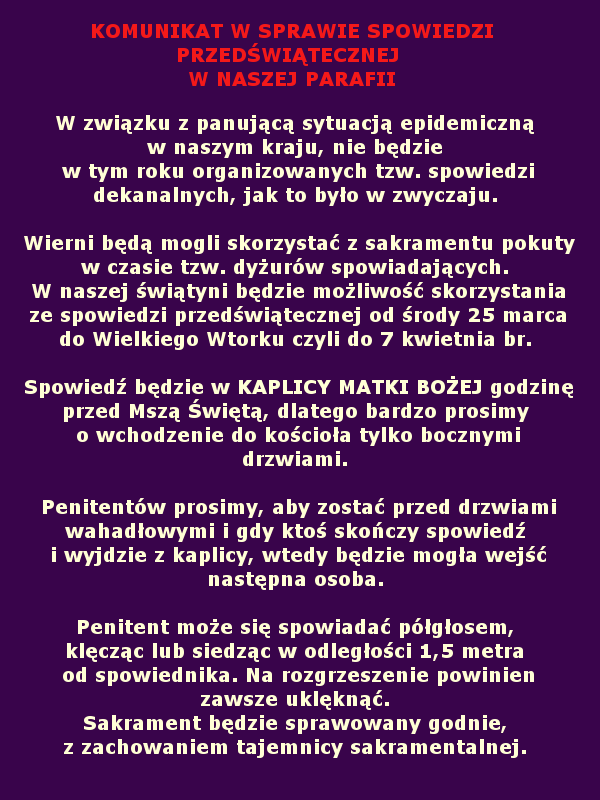 SPOWIEDX
